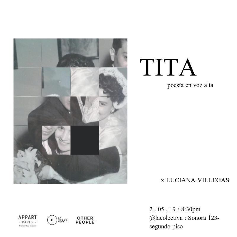 TITA, poésie à voix haute – MEXICO
